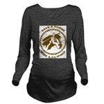 Ride A Filipino Long Sleeve Maternity T-Shirt
