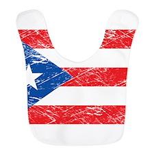 Vintage Puerto Rico Flag Bib