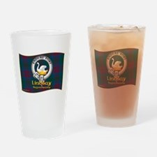 Lindsay Clan Drinking Glass