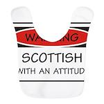 Attitude Scottish Bib
