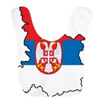 Map Of Serbia Bib