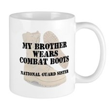 National Guard Sister Brother wears CB Mugs