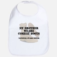 National Guard Sister Brother wears CB Bib