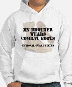 National Guard Sister Brother wears CB Hoodie
