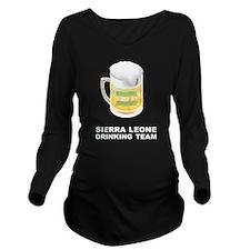 Unique Sierra leone Long Sleeve Maternity T-Shirt
