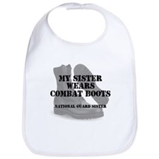 National Guard Sister wears CB Bib