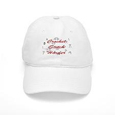Crochet Stitch Horder Baseball Baseball Cap