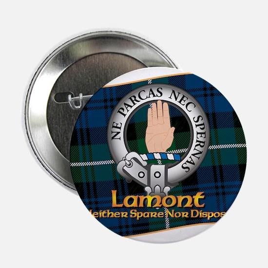 """Lamont Clan 2.25"""" Button"""