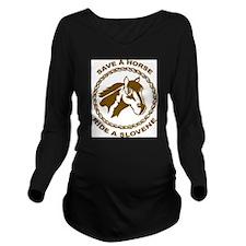 Ride A Slovene Long Sleeve Maternity T-Shirt