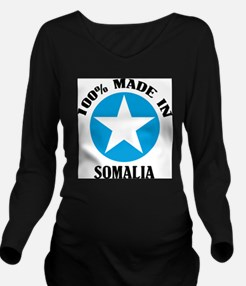 Made In Somalia Long Sleeve Maternity T-Shirt