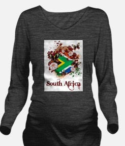 Butterfly South Africa Long Sleeve Maternity T-Shi