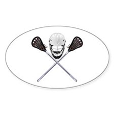 Lacrosse Pirate Decal