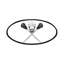 Lacrosse Pirate Patches