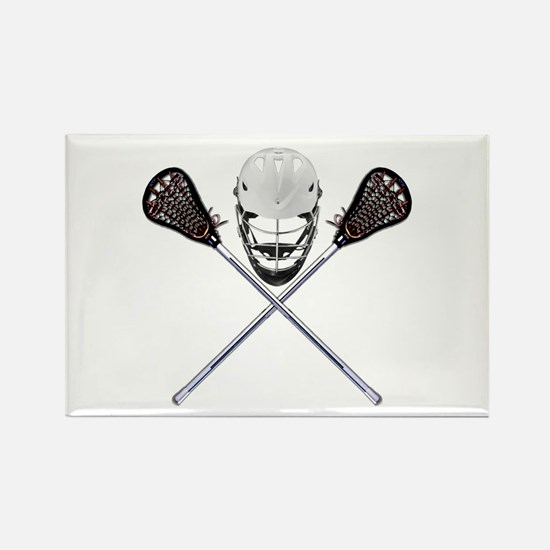 Lacrosse Pirate Magnets