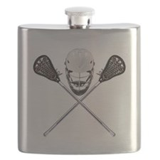 Lacrosse Pirate Flask