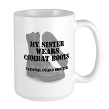 National Guard Brother Sister wears CB Mugs