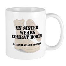 National Guard Brother Sister wears DCB Mugs