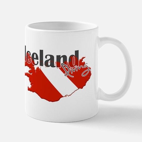 Iceland Diver Mug
