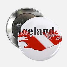 "Iceland Diver 2.25"" Button"