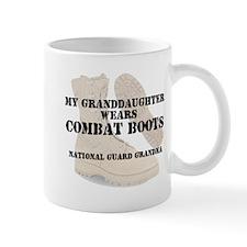 National Guard Grandma Granddaughter wears DCB Mug