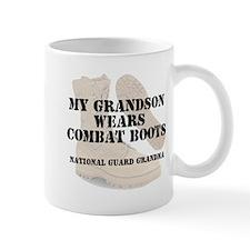 National Guard Grandma Grandson wears DCB Mugs