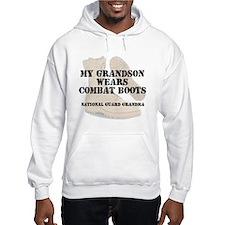 National Guard Grandma Grandson wears DCB Hoodie