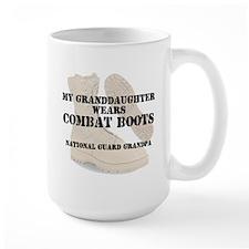 National Guard Grandpa Granddaughter wears DCB Mug