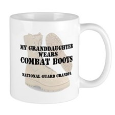 National Guard Grandpa Granddaughter wears DCB Mug