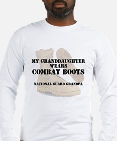 National Guard Grandpa Granddaughter wears DCB Lon