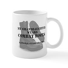National Guard Grandpa Granddaughter wears CB Mugs
