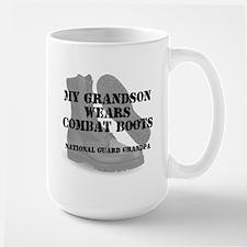 National Guard Grandpa Grandson wears DCB Mugs