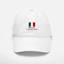 Italian Twins-Nonno Baseball Baseball Cap