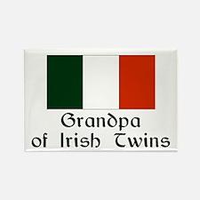 Irish Twins Grandpa Rectangle Magnet