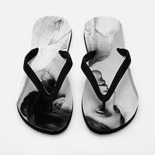woolfYoung (framed with ArtEdges) Flip Flops