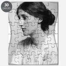 woolfYoung (framed with ArtEdges) Puzzle