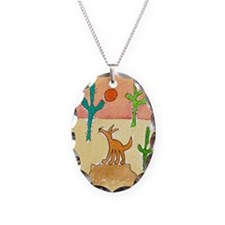 Desert Coyote 11x17 350dpi Necklace