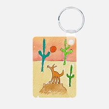 Desert Coyote 11x17 350dpi Keychains