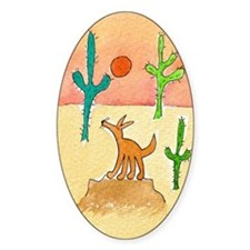 Desert Coyote 11x17 350dpi Decal