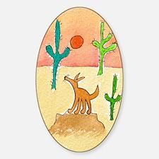 Desert Coyote 11x17 350dpi Decal