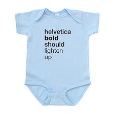 Helvetica Should Lighten Up Body Suit