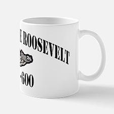 troosevelt black letters Mug