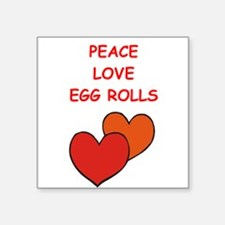 egg rolls Sticker
