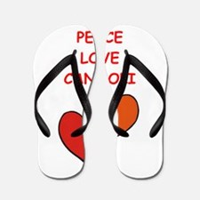 cannoli Flip Flops