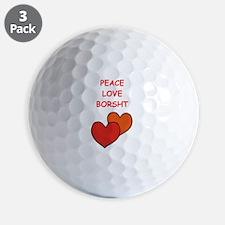 borsht Golf Ball