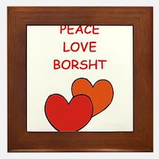 borsht Framed Tile