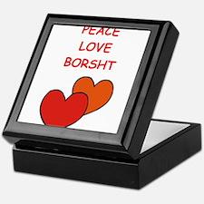 borsht Keepsake Box