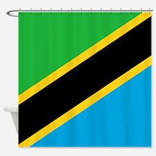 Flag of Tanzania Shower Curtain