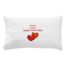 baked potato Pillow Case