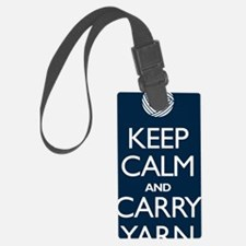 2-journalnavy Luggage Tag