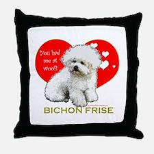 Afghan Hound Valentine Heart Throw Pillow